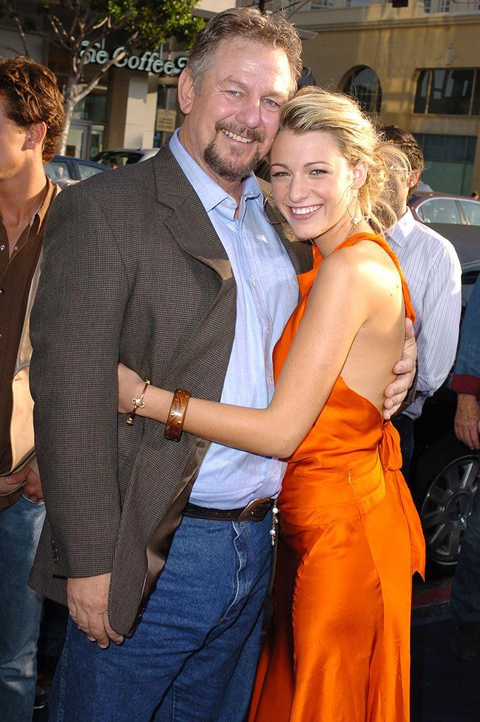 <p>Lively filmed her scenes as Bridget in <i>The Sisterhood of the Traveling Pants</i> between her junior and senior years of high school. She brings along dad, actor and producer Ernie Lively, to the Los Angeles premiere on May 31, 2005. <i>(Photo: Steve Granitz/WireImage)</i></p>