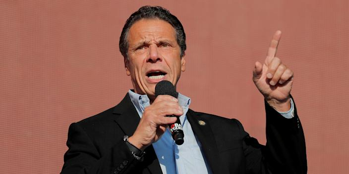 New York Gov. Andrew Cuomo is fuming over the relatively small sum his state is getting from the coronavirus stimulus package.