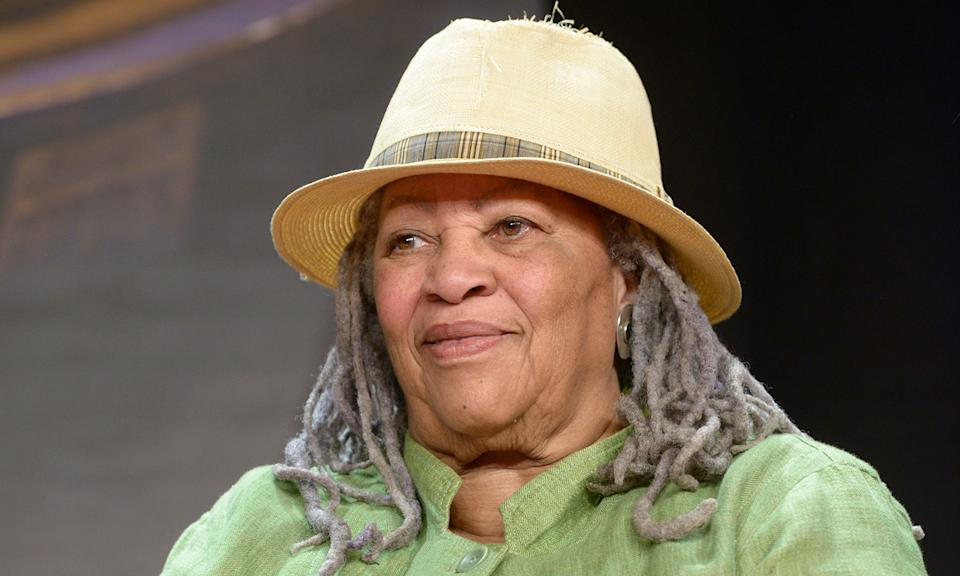 """Nobel laureate Toni Morrison died on 6 August after a short illness. The influential fiction writer had chronicled the African American experience for over five decades before her passing. Barack Obama paid tribute by describing Morrison as """"a national treasure, as good a storyteller, as captivating, in person as she was on the page"""". (Photo by Ulf Andersen/Getty Images)"""