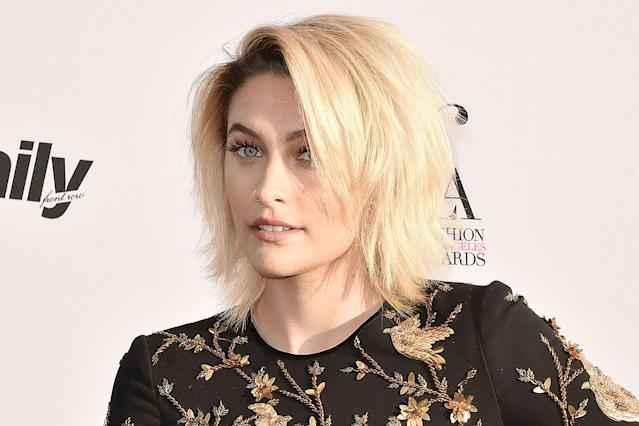 Paris Jackson at a fashion event in West Hollywood last April. (Photo: David Crotty/Patrick McMullan via Getty Images)