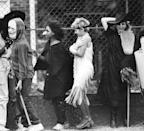 """<p>Children line up outside Park Will Elementary in Denver, waiting for their Halloween parade to start. While many schools staged Halloween parades at school during the '80s and '90s, the tradition has <a href=""""http://fusion.net/story/213138/milford-connecticut-schools-ban-halloween/"""" rel=""""nofollow noopener"""" target=""""_blank"""" data-ylk=""""slk:come under fire in more recent years"""" class=""""link rapid-noclick-resp"""">come under fire in more recent years</a> due to concerns about students being left out due to religious or cultural beliefs. </p>"""