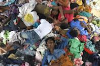 Some Rohingya say they were told the crossing to Malaysia would take a week; in reality, it takes months, if they make it all