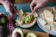 <p>Have you ever filled up on chips before the dip even hits the table? Tortilla chips have very little nutritional value and can be high in sodium. Plus, calories can add up very quickly while munching on those bottomless chips.</p>