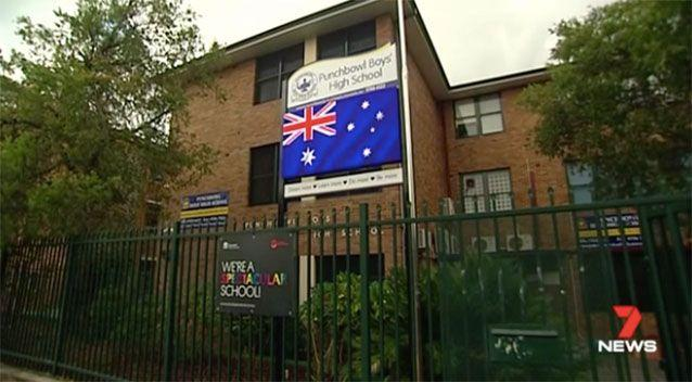 The southwest Sydney school. Picture: 7 News
