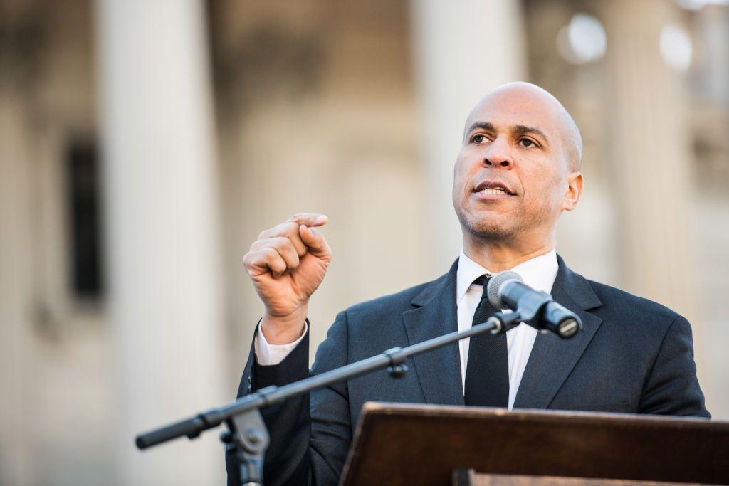"""<p><strong>State: </strong>New Jersey </p><p><strong>Position: </strong>U.S. Senator </p><p><strong>What he says about gun control: </strong>""""If you need a license to drive a car, you should need a license to own a gun."""" Learn more about Booker's ambitious gun control policy <a href=""""https://www.vox.com/future-perfect/2019/5/6/18528472/cory-booker-gun-control-licensing-plan-policy"""" target=""""_blank"""">here.</a> </p><p><a class=""""body-btn-link"""" href=""""https://www.booker.senate.gov/"""" target=""""_blank"""">SUPPORT HIM</a></p>"""