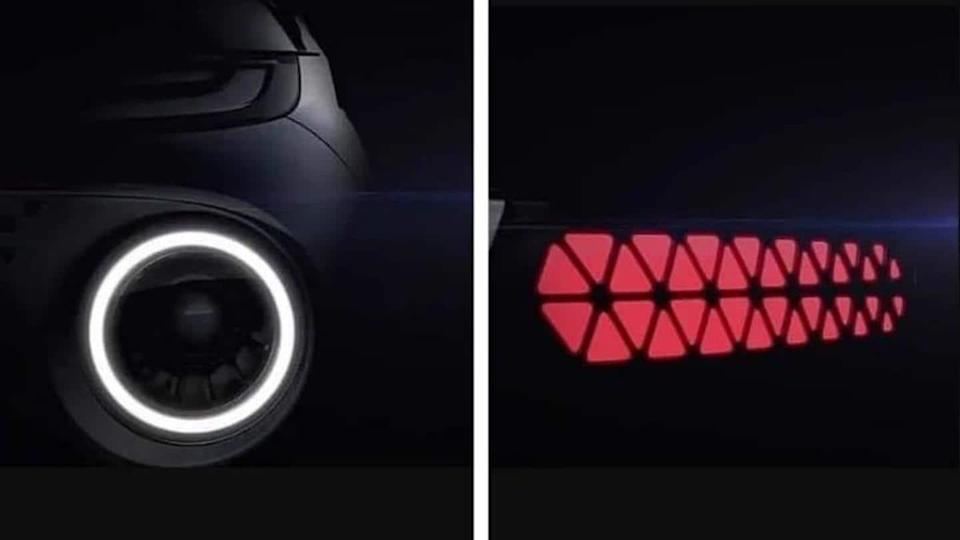 Prior to its global debut, Hyundai AX1 micro SUV teased