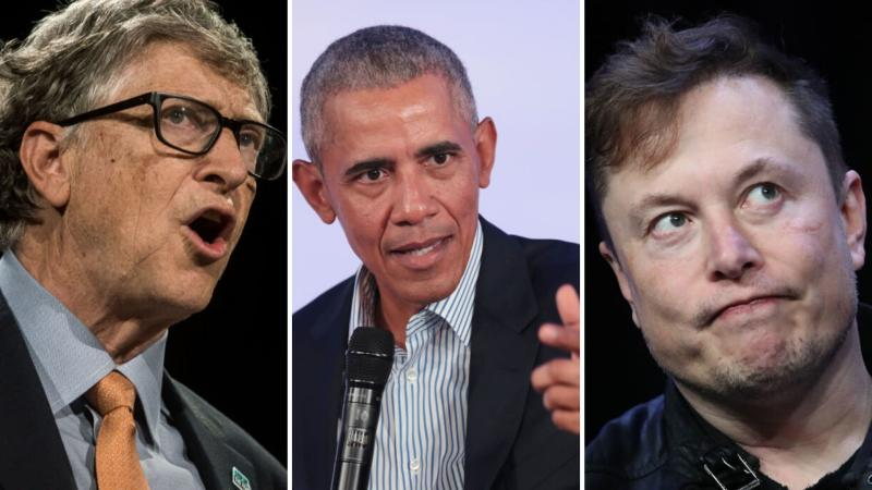 Bill Gates, Barack Obama, Elon Musk have been hacked. Images: Getty