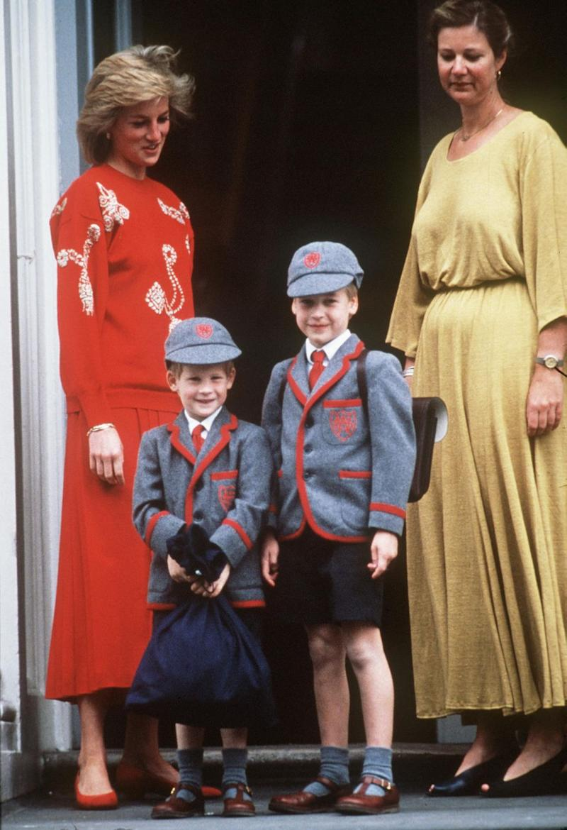 Prince William and Prince Harry attend Wetherby Prep School in London. Prince George is attending Thomas's Battersea Prep School in London. Source: Getty