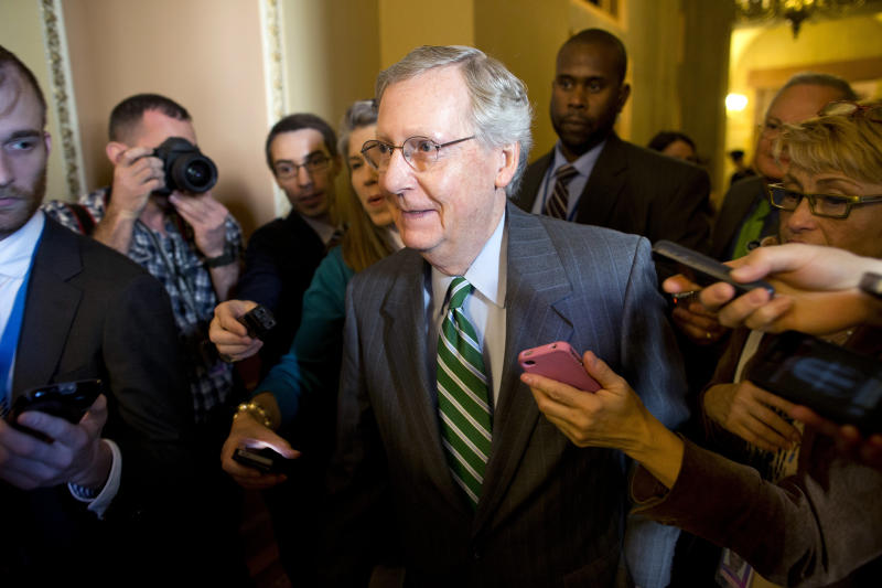 Hope for shutdown deal: Reid, McConnell optimistic