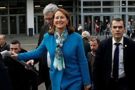 France's Minister for Ecology, Sustainable Development and Energy Royal visits the International Agricultural Show in Paris