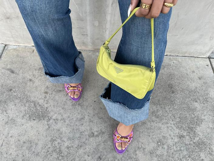"""<p>I've been able to find a healthy mix of new and old items across most online marketplaces, from NWT By Far handbags to '90s Gucci bamboo heels - you just need to know where (and how) to look. I recommend scouring new arrivals and specifying """"vintage"""" in your keyword search as a surefire way to find the real archival treasures. Otherwise, shopping the collections curated by staff editors is a fast track to some of the best offerings. </p> <p>Unless you're on the hunt for a heavily on-trend style or ultra-rare vintage piece, you won't be hard-pressed to find something chic. This is especially true of handbags, which resale sites seem to carry in droves.</p>"""