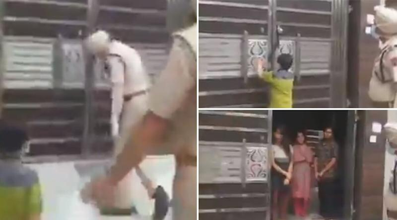 Punjab Kid Accompanies Police to Tuition Teacher's House After Complaining Against Tutor For Taking Classes And Parents For Sending Him During Lockdown, Video Goes Viral