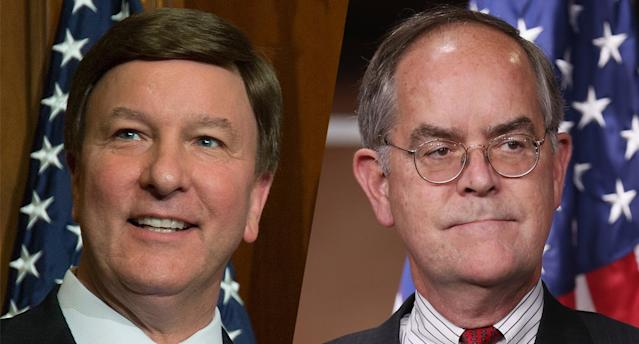 Rep. Mike Rogers, R-Ala., and Rep. Jim Cooper, D-Tenn. (Photos: Zach Gibson/AP,  Chip Somodevilla/Getty Images)