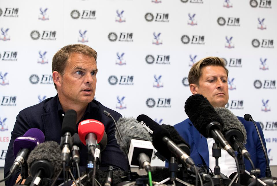 Steve Parish and the board have made a big decision sacking Frank de Boer