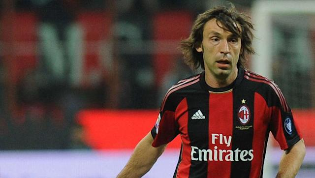 <p>A household name, Andrea Pirlo was one of the best deep-lying playmakers in the world and stood out as just that in his time at the San Siro, before he was snapped up by Juventus on a free transfer.</p> <br><p>He won two Champions League's in 10 years at Milan.</p>