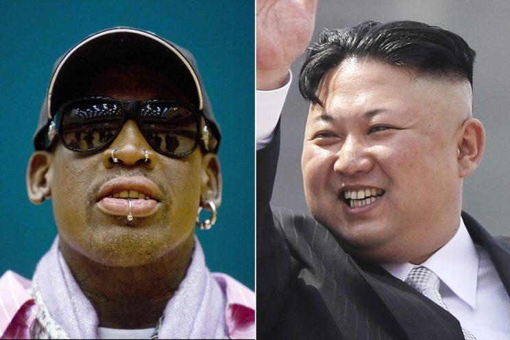 Dennis Rodman is headed back to North Korea. (AP)