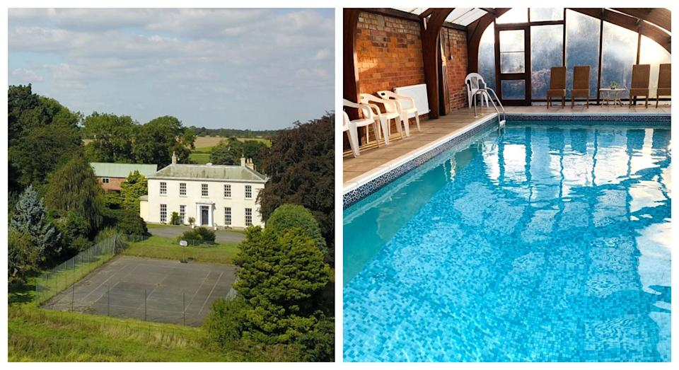 Parkland Hall is great for swimming on those cooler days (Sykes Cottages)
