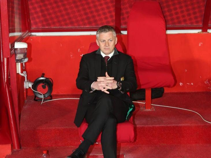 <p>Solskjaer are the overwhelming favourites for tonight's game</p> (Getty Images)