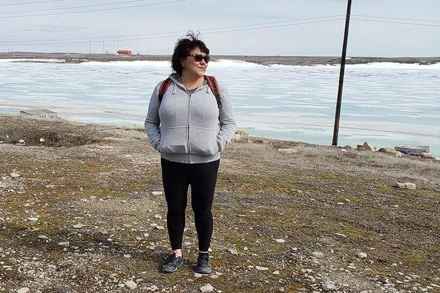 Caroline Robinson felt she had no choice but to quit her job as a mental health outreach worker and leave Nunavut because she can't afford a place to live.