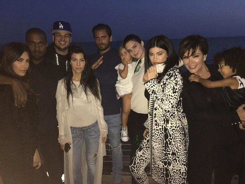 All in the Family! The Kardashian-Jenners Come Together to Celebrate Rob's Birthday (Sans Blac Chyna)