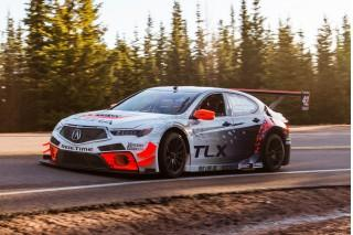 2017 Acura Tlx Gt Race Car Set For Pikes Peak International Hill Climb