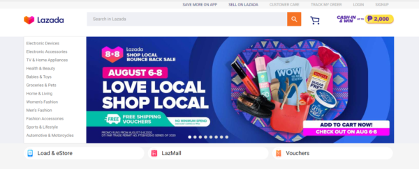 Online Shopping Sites Philippines - Lazada