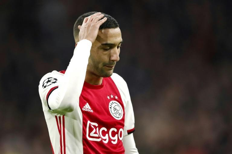 Ziyech's youth was a troubled one due largely to his father's death when he was just 10-years-old (AFP Photo/Maurice van STEEN)