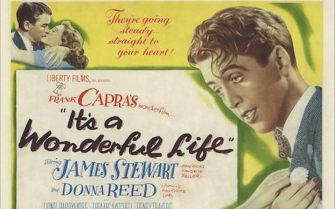 A poster for It's A Wonderful life