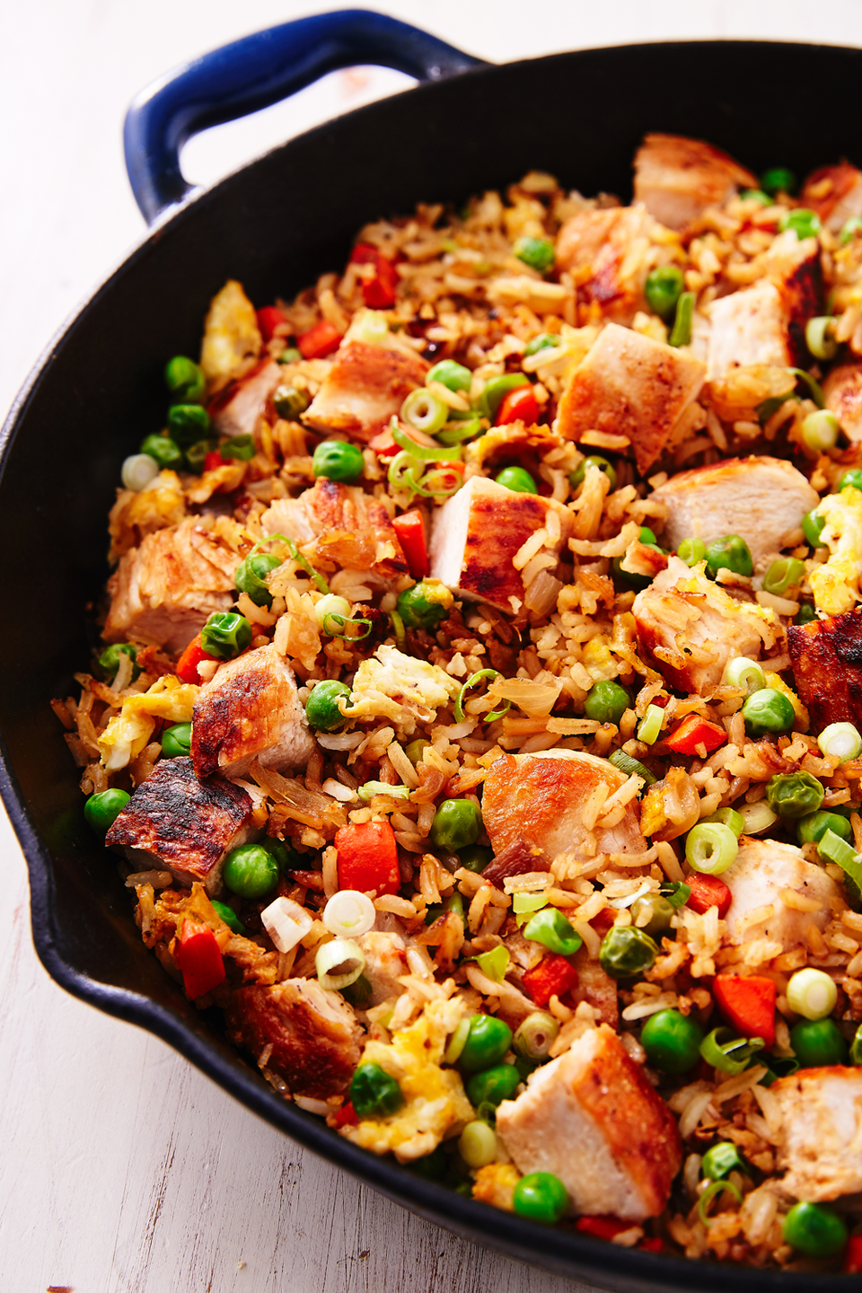 "<p>The comfort dish of Chinese food. </p><p>Get the recipe from <a href=""https://www.delish.com/cooking/recipe-ideas/a25635966/chicken-fried-rice-recipe/"" rel=""nofollow noopener"" target=""_blank"" data-ylk=""slk:Delish"" class=""link rapid-noclick-resp"">Delish</a>. </p>"