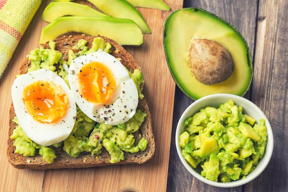 Both eggs and avocado could help ease anxiety [Photo: Getty]