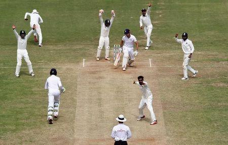 Cricket - India v England - Fifth Test cricket match