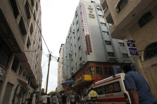 A Hamas government complex, was also targeted, taking out electricity in much of the city