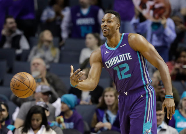 Like most of his recent stops, things just didn't work out for Dwight Howard in Charlotte. (AP)