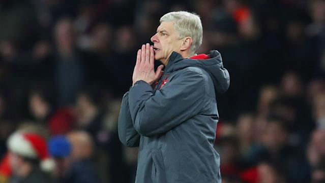 Under some pressure with Arsenal sixth in the Premier League, Arsene Wenger has no plans to leave the club.