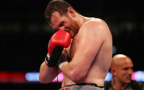 David Price retires in the third round of the Heavyweight Contest Bout at Wembley Stadium - Credit: Nick Pott/Pa Wire