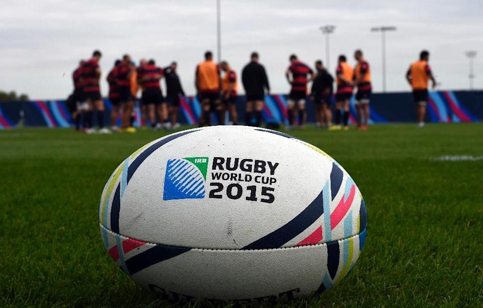 Pool A at the Rugby World Cup includes heavyweights Australia, England and Wales (AFP Photo/Loic Venance)