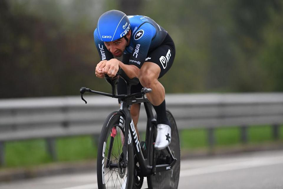 MILANO ITALY  OCTOBER 25 Victor Campenaerts of Belgium and NTT Pro Cycling Team  during the 103rd Giro dItalia 2020 Stage 21 a 157km Individual time trial from Cernusco sul Naviglio to Milano  ITT  girodiitalia  Giro  on October 25 2020 in Milano Italy Photo by Tim de WaeleGetty Images