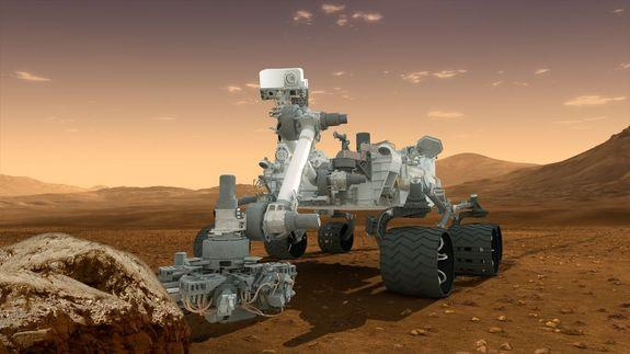 Huge Mars Rover One Month from Red Planet Landing