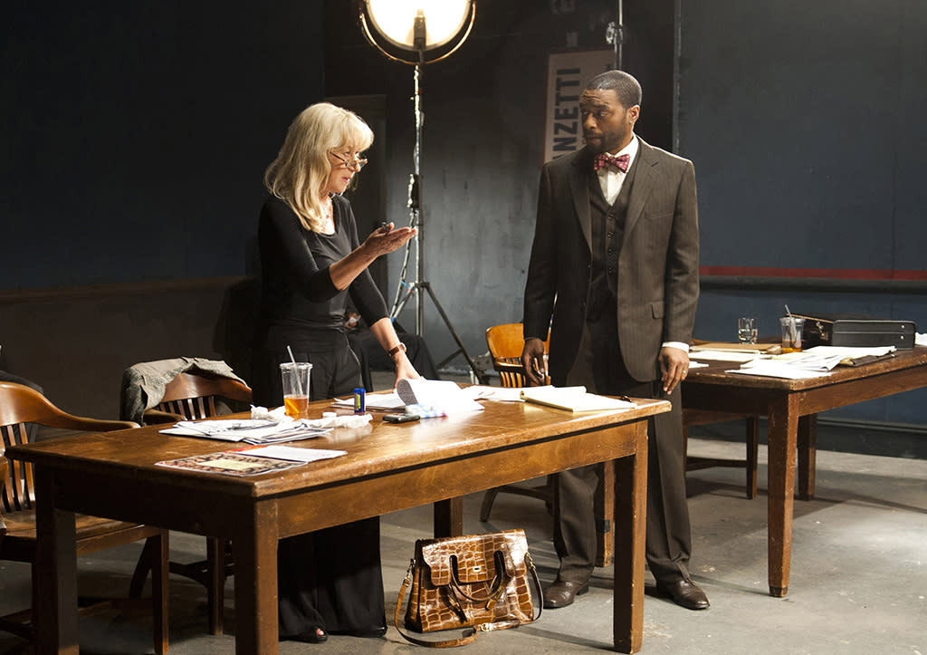 "Helen Mirren and Chiwetel Ejiofor in HBO Films? ""Phil Spector,"" debuting Sunday, March 4 on HBO."
