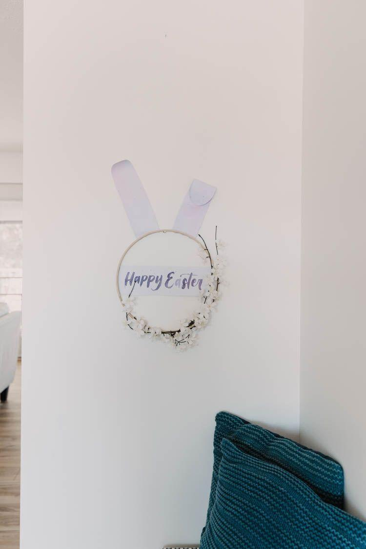 """<p>This wreath will give you an opportunity to try out your watercolor talents and calligraphy skills. It's a creative way to tell everyone, """"Happy Easter."""" </p><p><strong>Get the tutorial at <a href=""""https://www.lemonthistle.com/easter-bunny-hoop-wreath/"""" rel=""""nofollow noopener"""" target=""""_blank"""" data-ylk=""""slk:Lemon Thistle"""" class=""""link rapid-noclick-resp"""">Lemon Thistle</a>.</strong></p><p><a class=""""link rapid-noclick-resp"""" href=""""https://go.redirectingat.com?id=74968X1596630&url=https%3A%2F%2Fwww.walmart.com%2Fip%2F2-Pack-of-9-x-12-Premium-Extra-Heavy-Weight-Watercolor-Painting-Paper-Pad-90lb-24-Sheets%2F42520534&sref=https%3A%2F%2Fwww.thepioneerwoman.com%2Fhome-lifestyle%2Fcrafts-diy%2Fg35698457%2Fdiy-easter-wreath-ideas%2F"""" rel=""""nofollow noopener"""" target=""""_blank"""" data-ylk=""""slk:SHOP WATERCOLOR PAPER"""">SHOP WATERCOLOR PAPER</a></p>"""