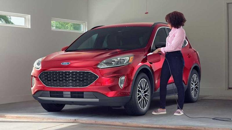 Ford Kuga Phev Sales Halted For Fire Risk Owners Told Not To Charge