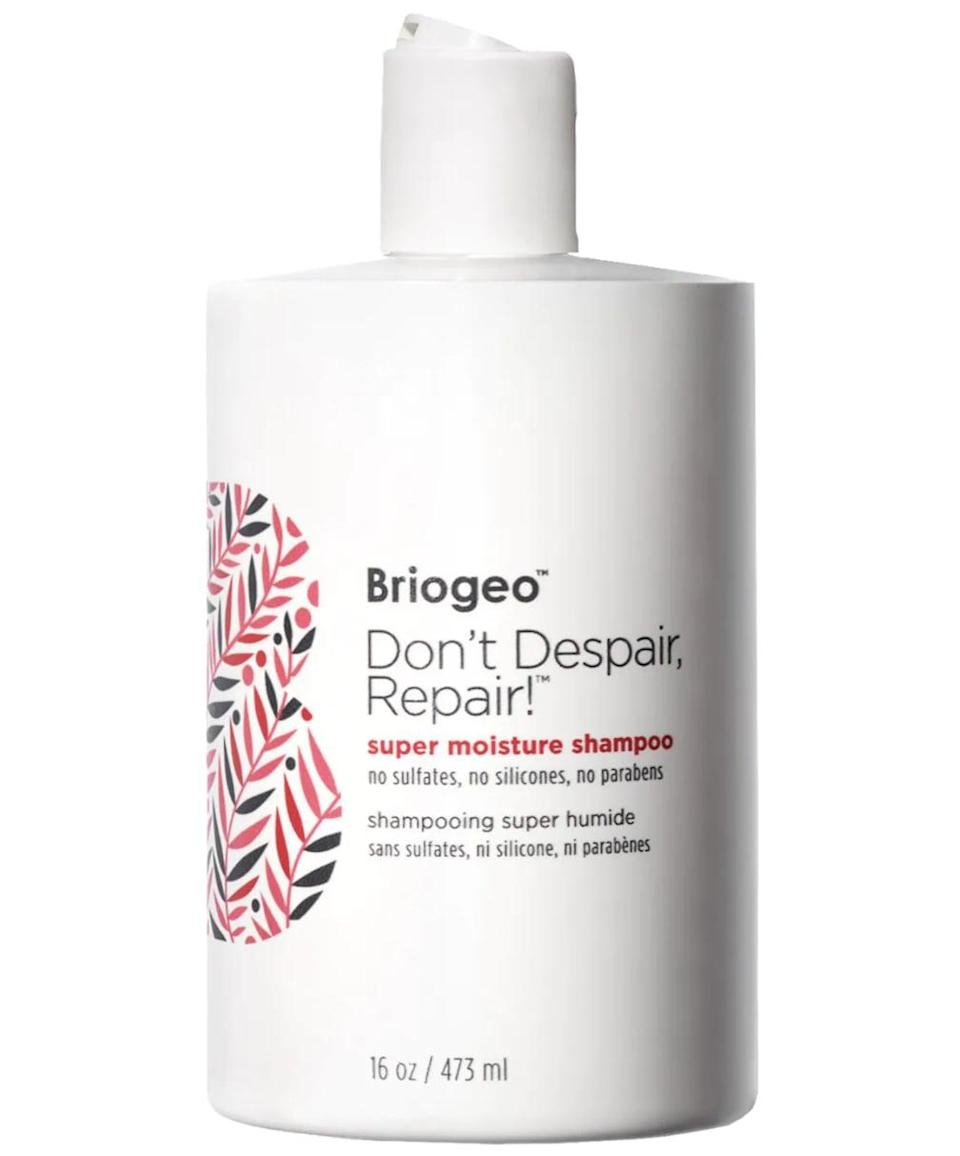 <p>A follow-up to the brand's best-selling Don't Despair, Repair!™ Super Moisture Conditioner, the <span>Briogeo Don't Despair, Repair!™ Super Moisture Shampoo for Damaged Hair</span> ($36) incorporates the same ultra-moisturizing benefits of the aforementioned conditioner while also being able to remove dirt, oil, and buildup from the hair.</p>