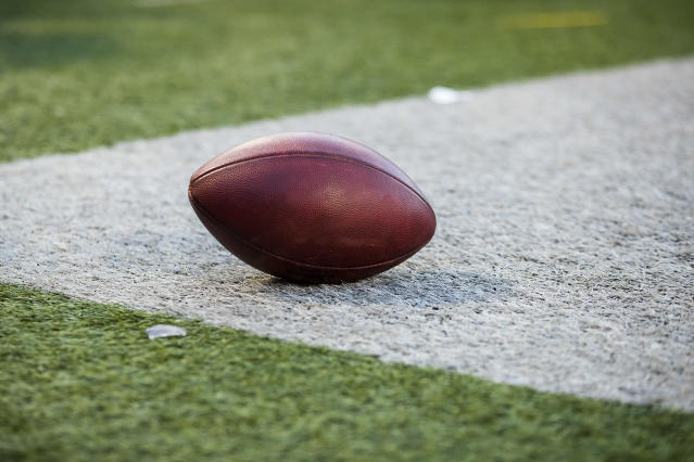 Fans are accused of shouting racial slurs at opposing players at a high school football game. (Photo by Brett Carlsen/Getty Images)