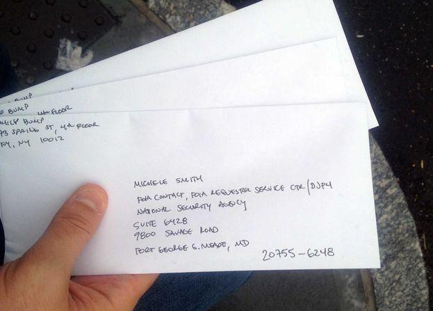 The NSA Couldn't Answer Our FOIA Request Because It Couldn't Figure Out Our Address