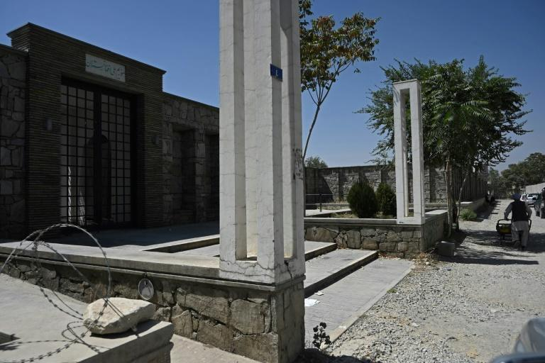 Bamiyan's cultural centre should have been completed last month, but the Taliban takeover has put that on hold (AFP/WAKIL KOHSAR)