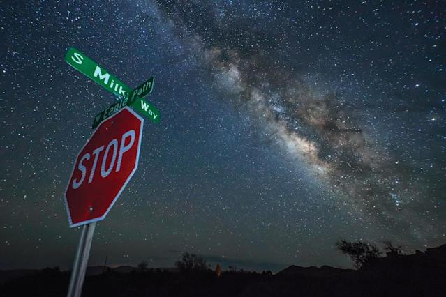 <p>Recently completed, their collection of Skyglow images were turned into a book, which was released last month. (SKYGLOW/CATERS NEWS) </p>