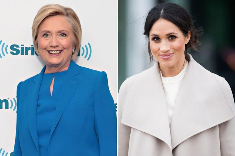 Hillary Clinton and Meghan Markle | Cindy Ord/Getty Images; Samir Hussein/WireImage