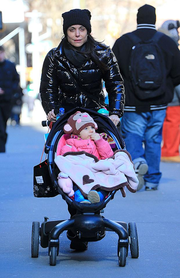 Bethenny Frankel takes Bryn out to the Children's Museum in SoHo, NYC.