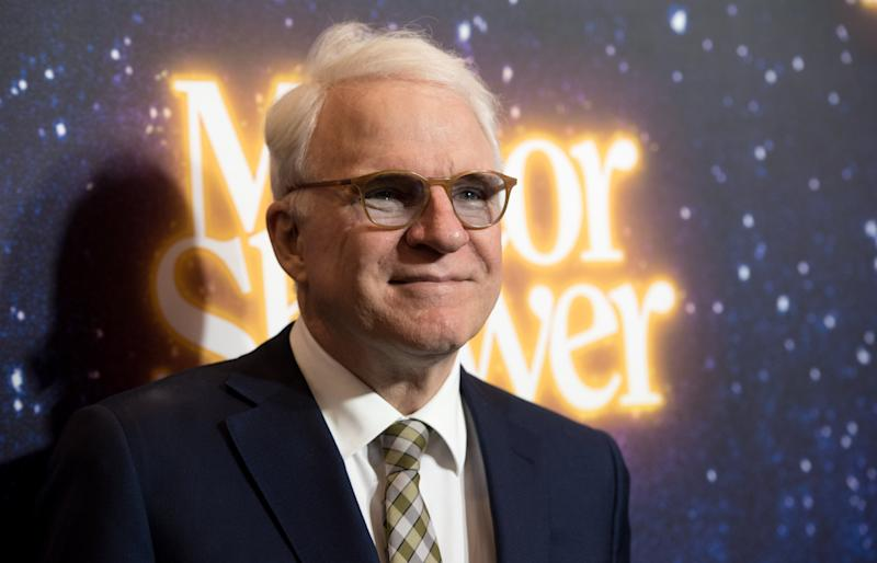 Steve Martin's face mask joke trended on Twitter. (Photo: Noam Galai/Getty Images for Meteor Shower)