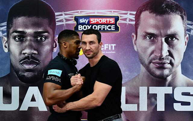The big Wembley fight is not far away now - Getty Images Sport